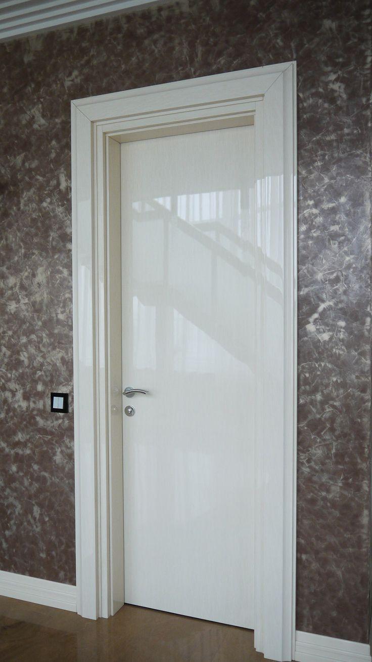 Реставрация глянцевой двери
