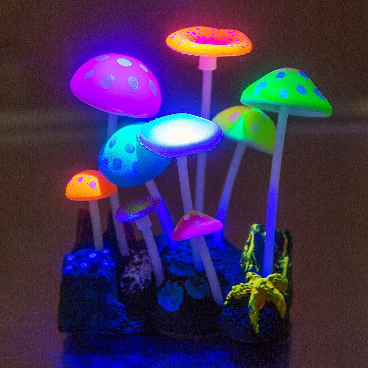 Декор для аквариума грибы