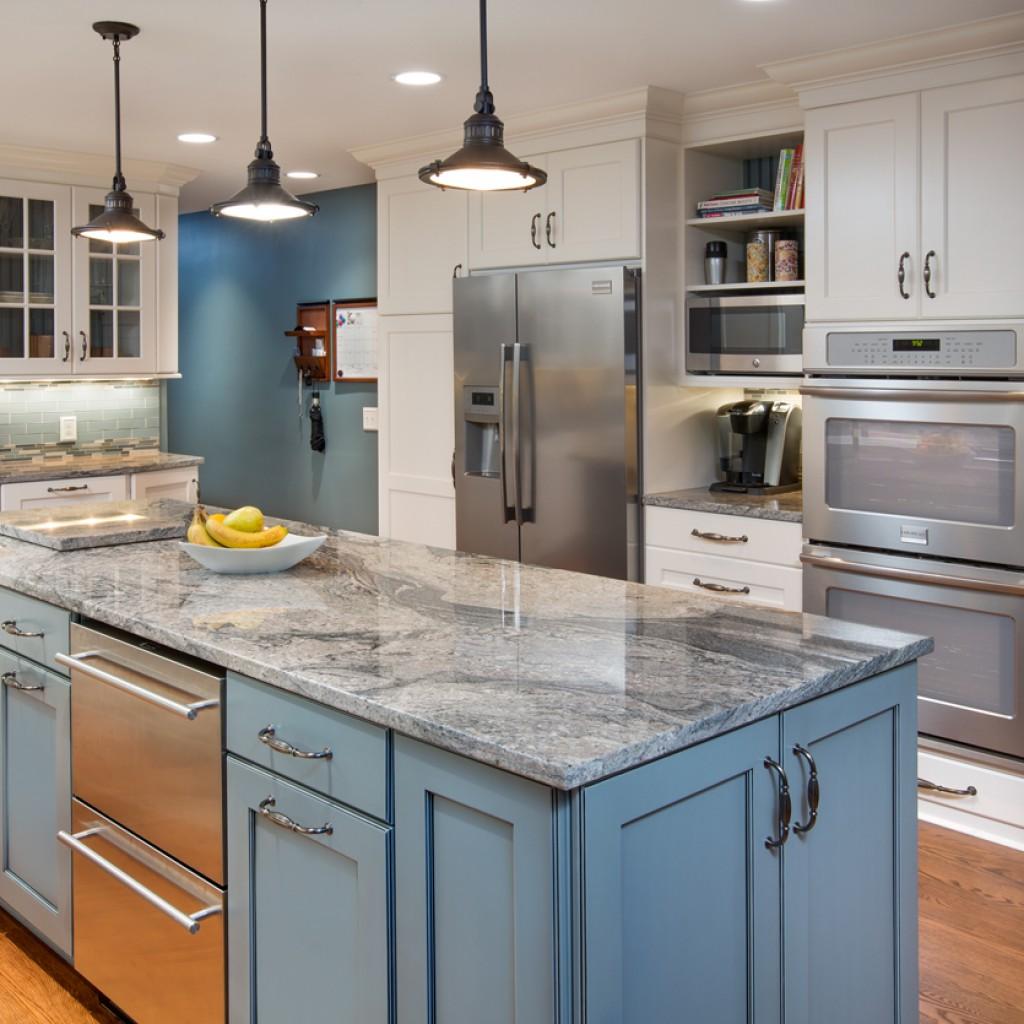 Использование натурального камня на кухне