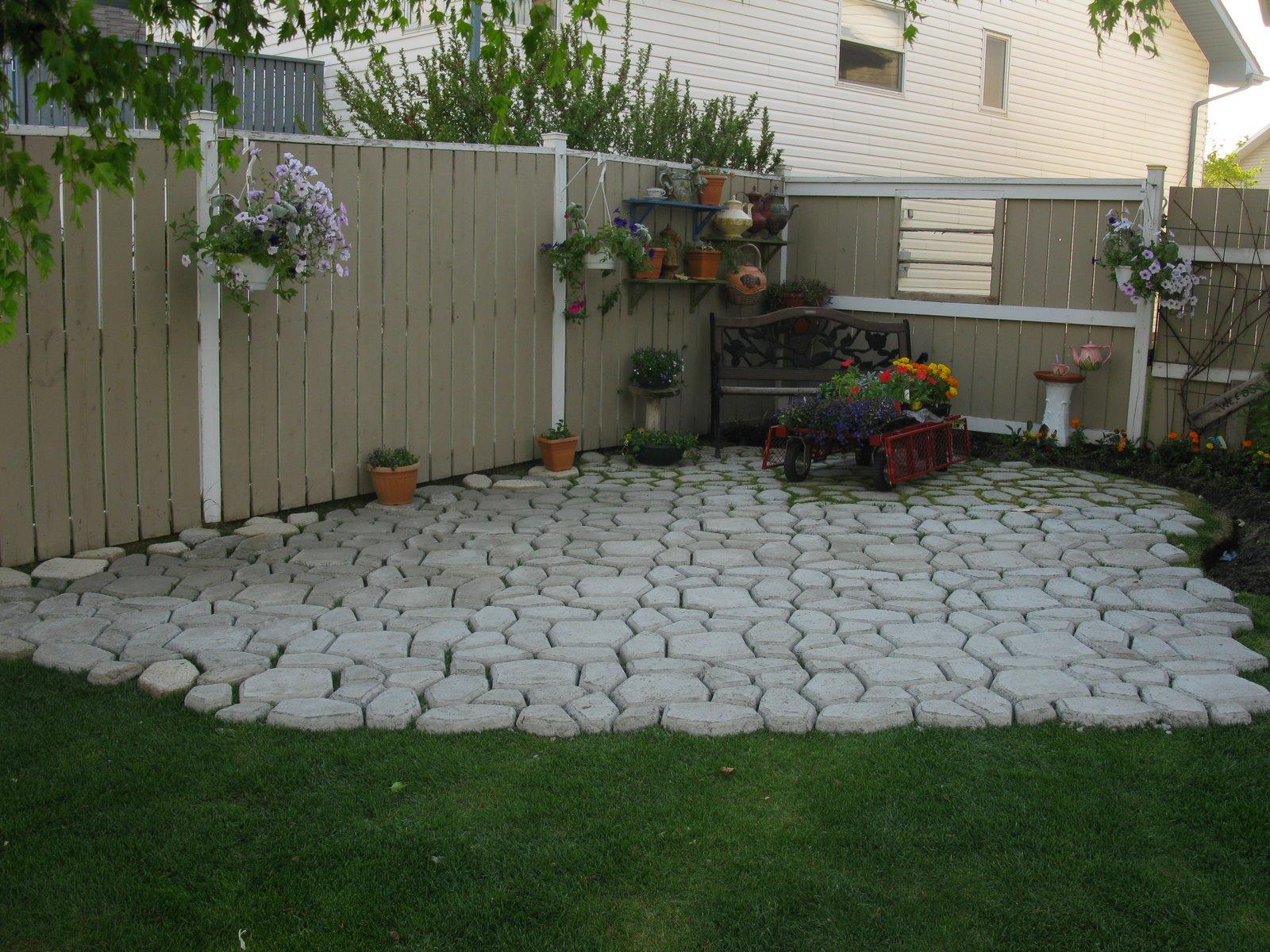Каменная тротуарная плитка