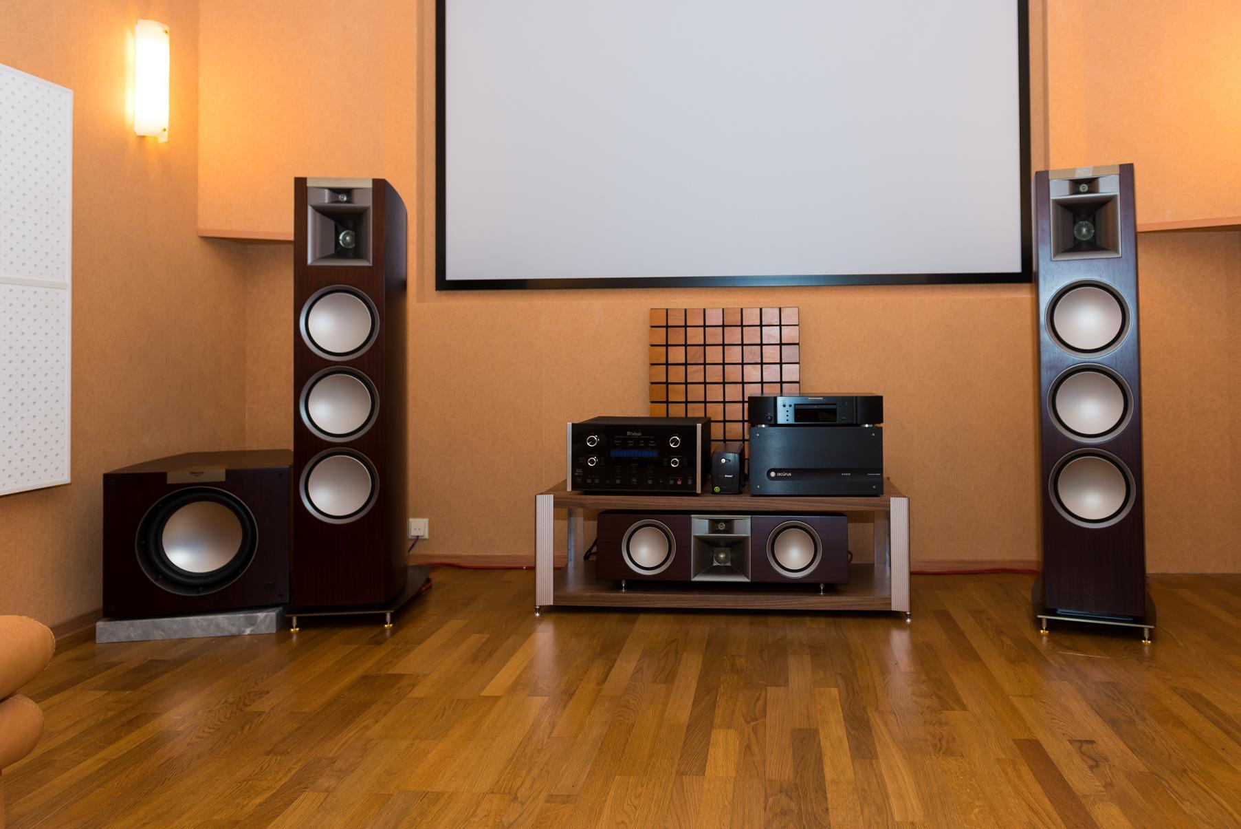 Аудиосистема для домашнего кинотеатра
