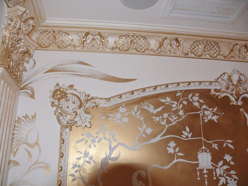 Декор из гипса в интерьере
