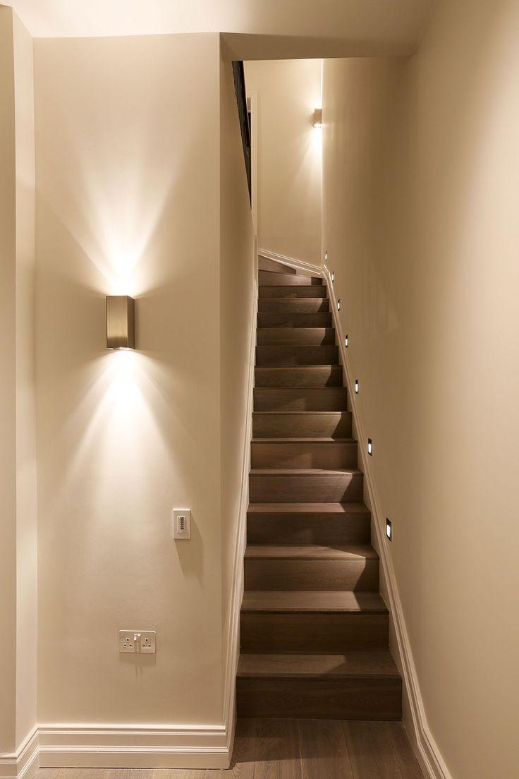 Комбинированное освещение лестницы