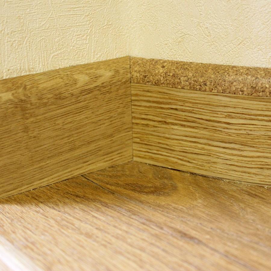 Комбинированный деревянный плинтус