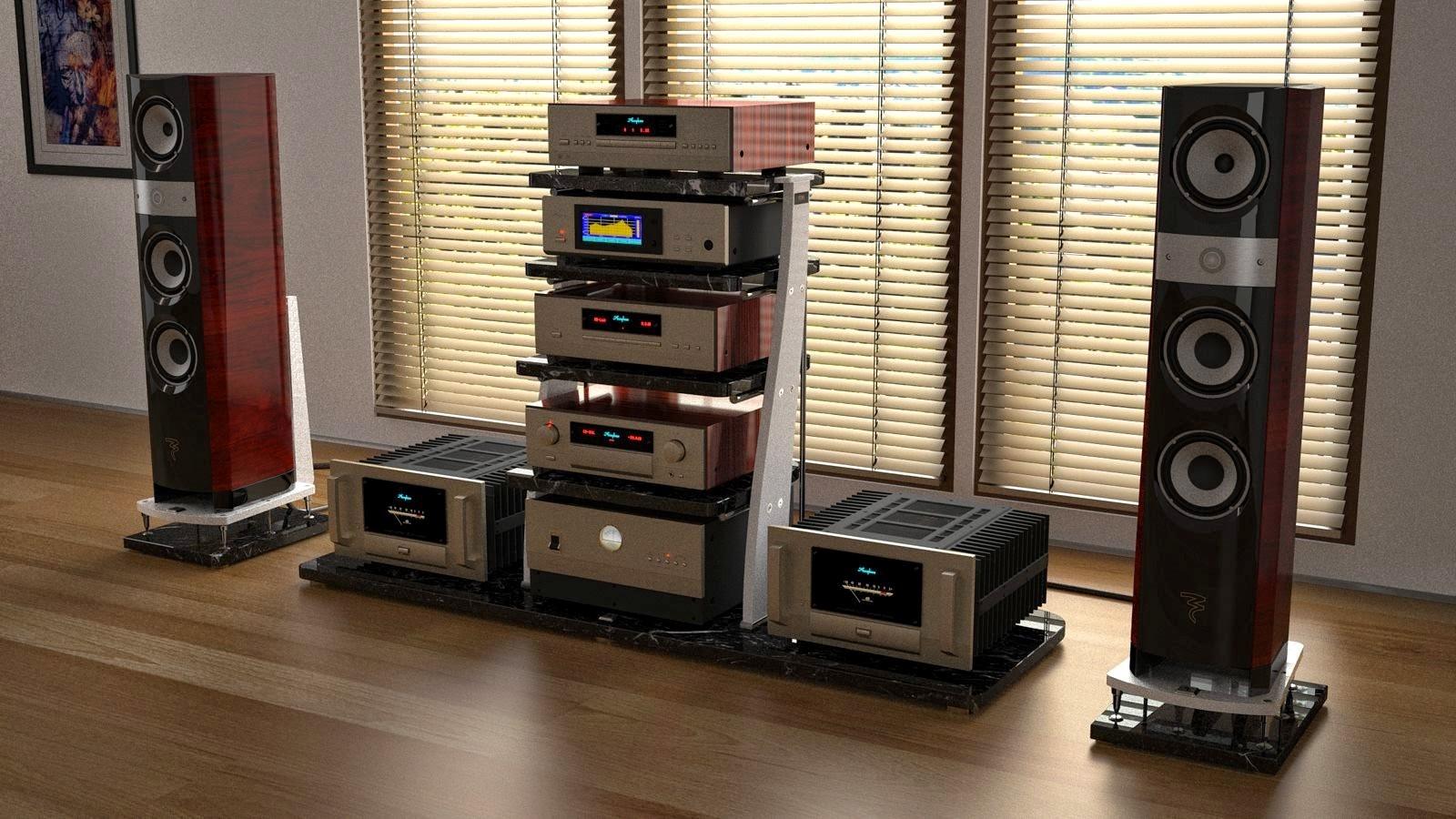 Компоновка аудиосистемы для дома
