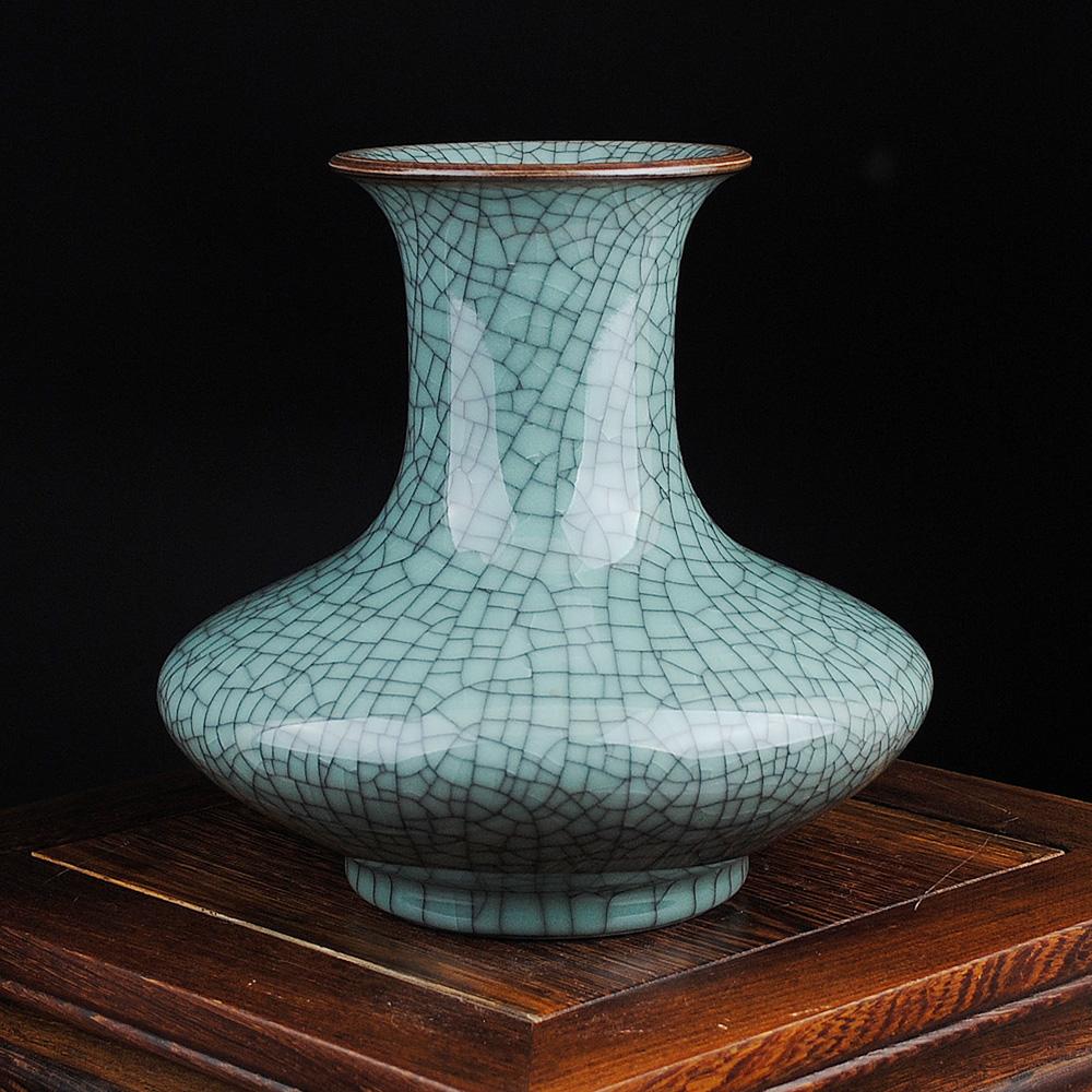 Декор вазы в технике кракелюр