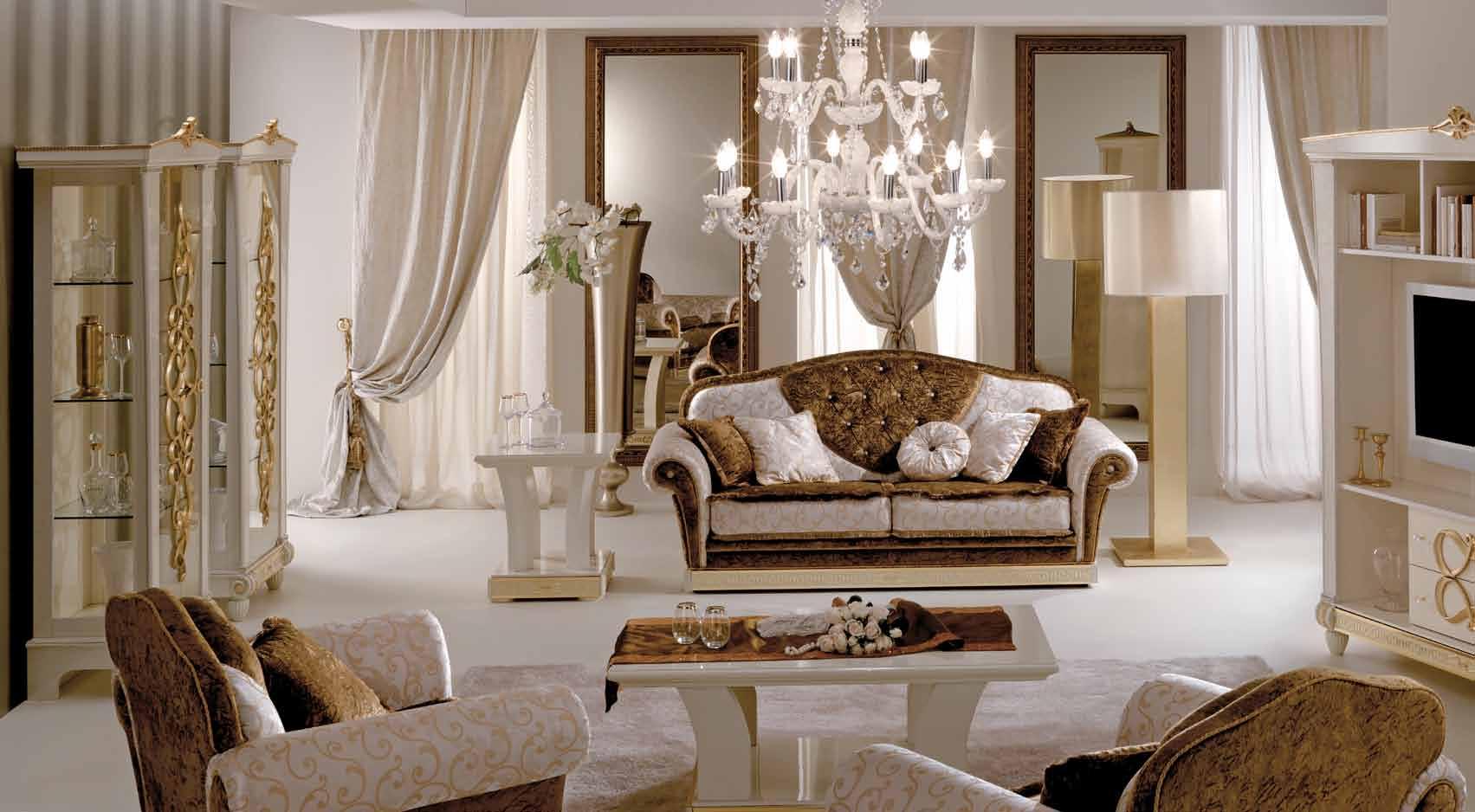 Диван и кресла в классическом стиле