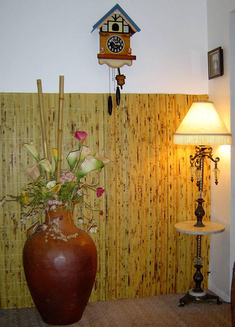 Бамбуковые крупные обои