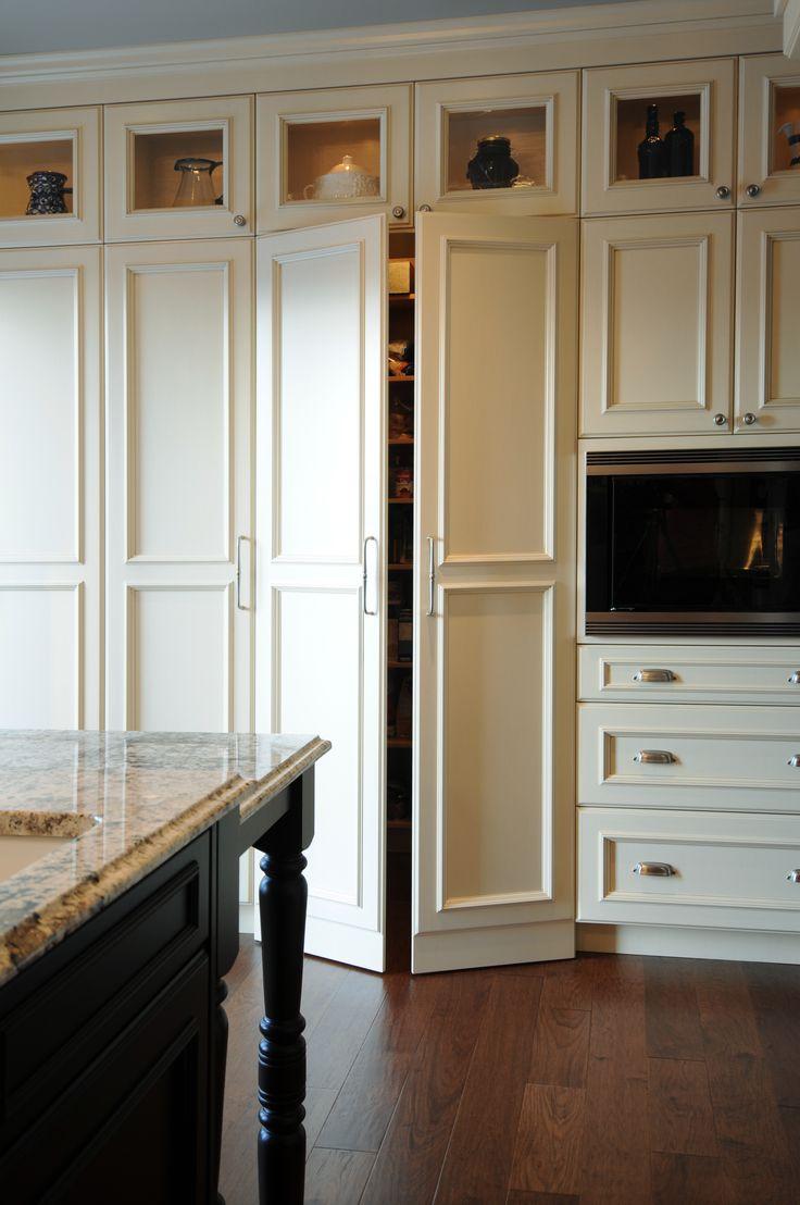 Дверки в нишу на кухне