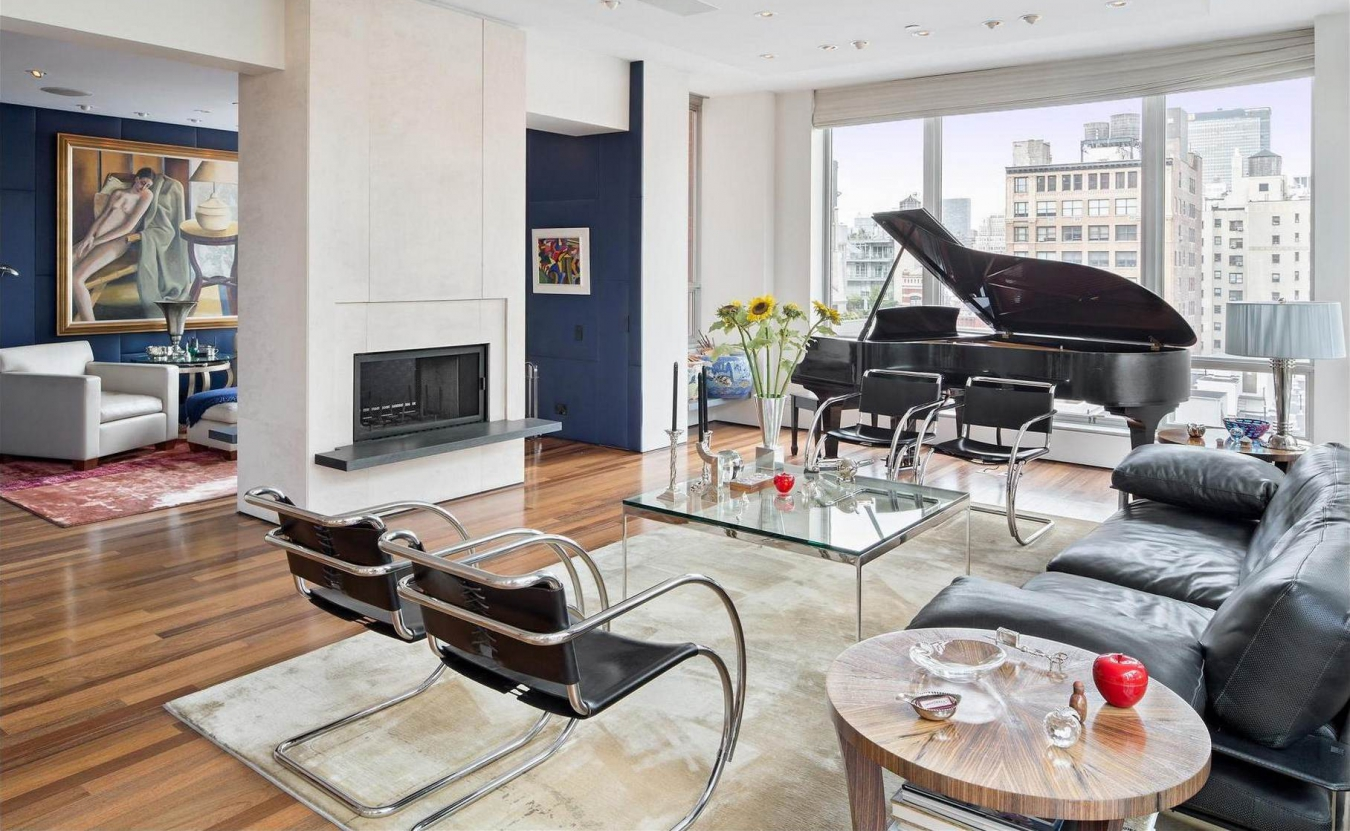 Рояль в интерьере квартиры