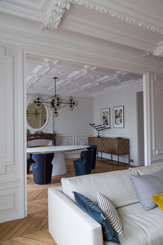 Декор из гипса в квартире