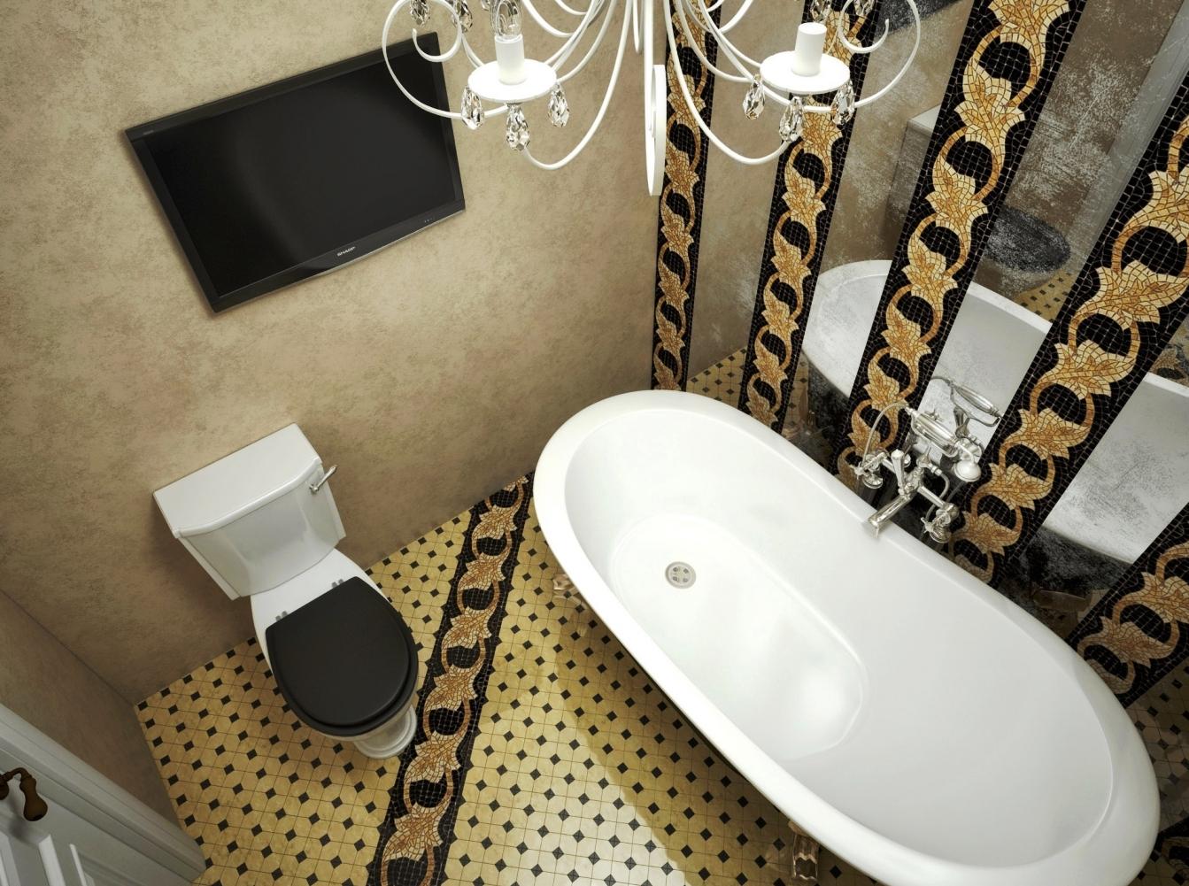 LED-телевизор в ванной