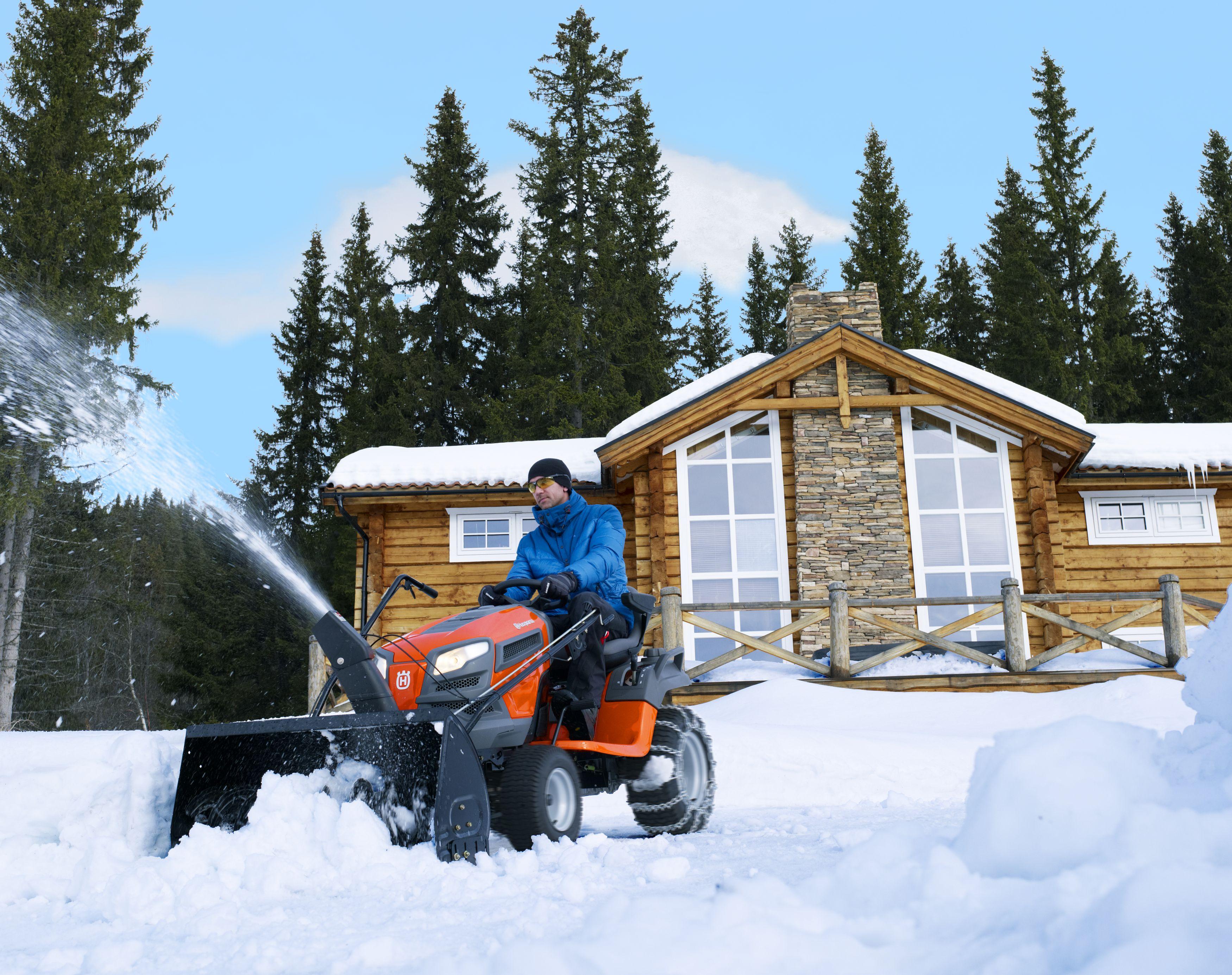 Снегоуборщик-машина