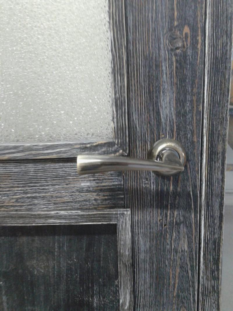Реставрация двери из массива