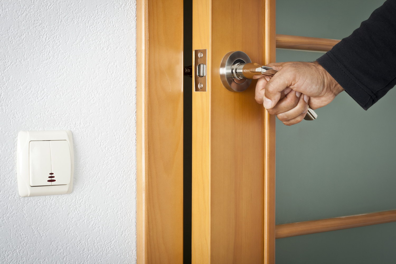 Нажимная ручка для межкомнатной двери