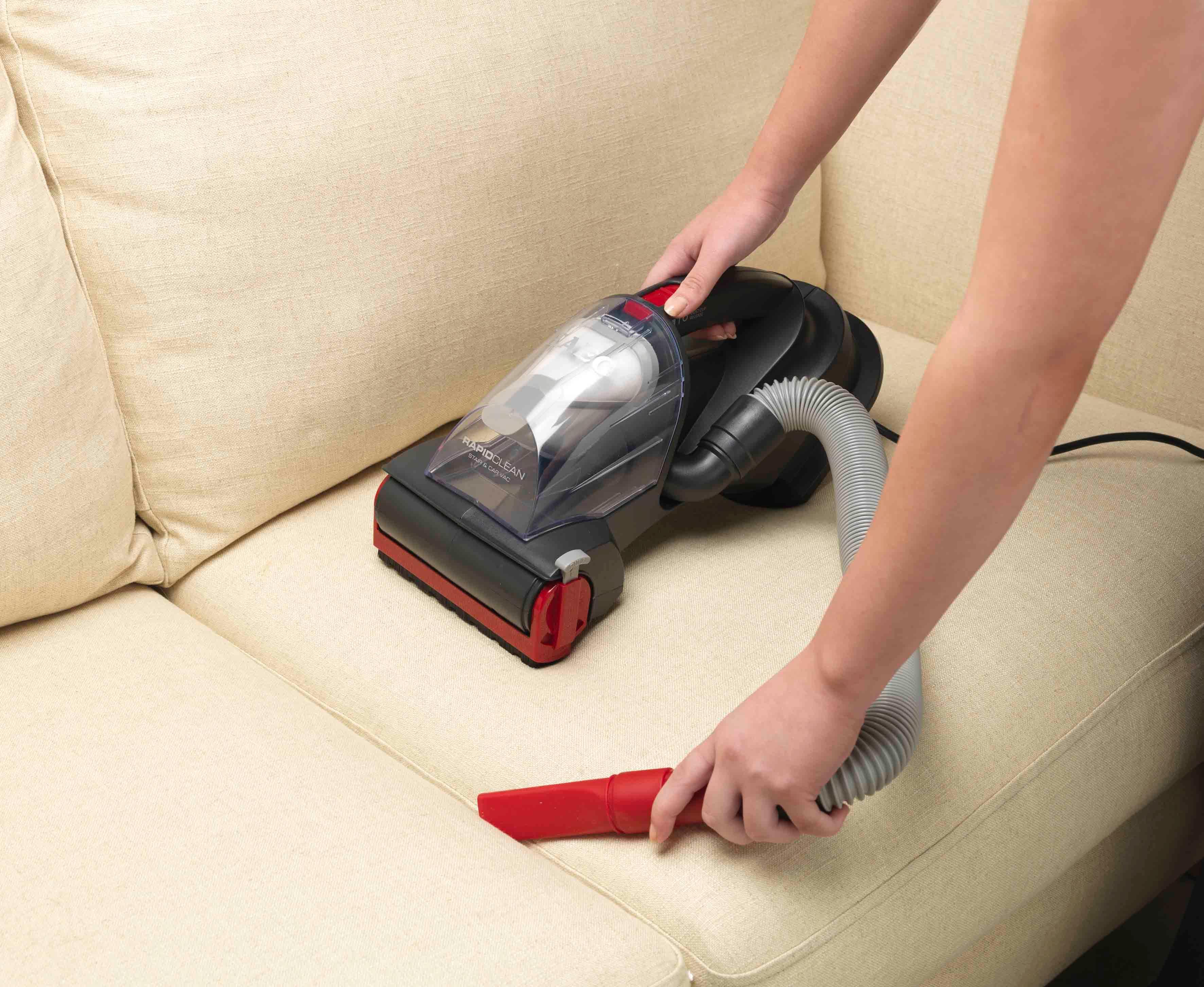 Маленький пылесос для мебели