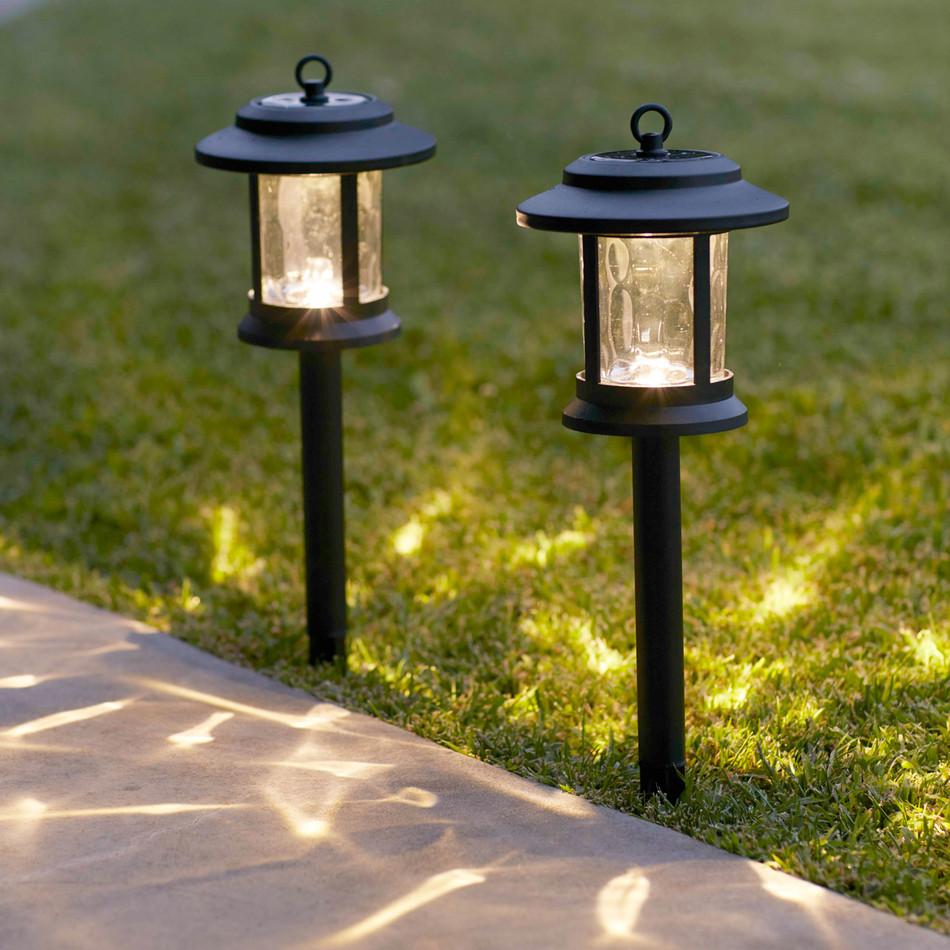 Металлические уличные фонари для дачи