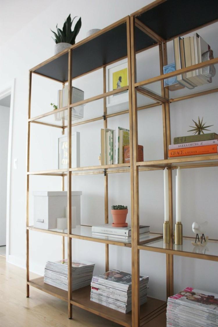 Минималистичный дизайн полок в интерьере