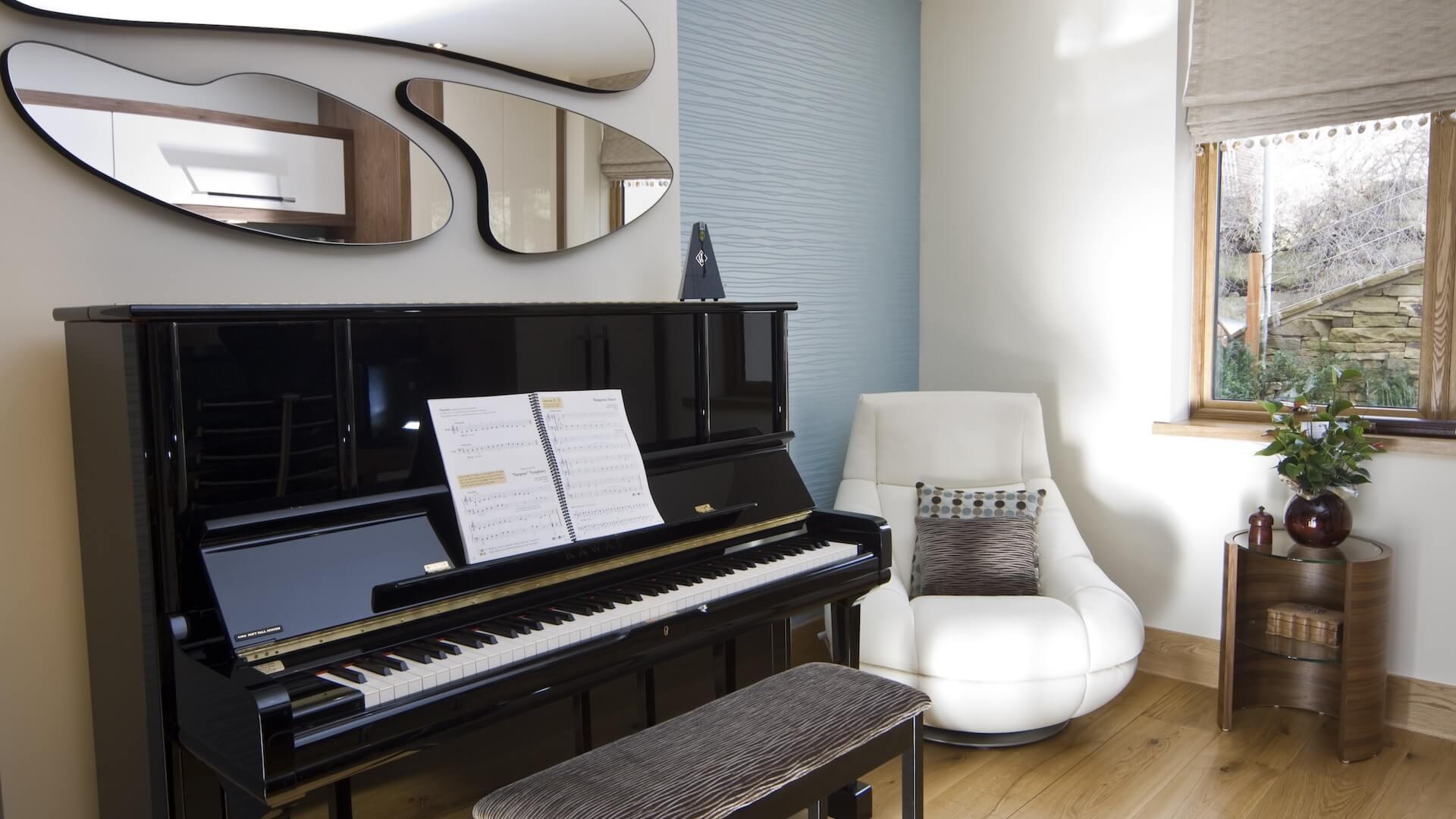 Пианино в стиле модерн