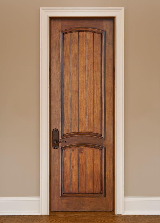 Дверь из мореного дерева