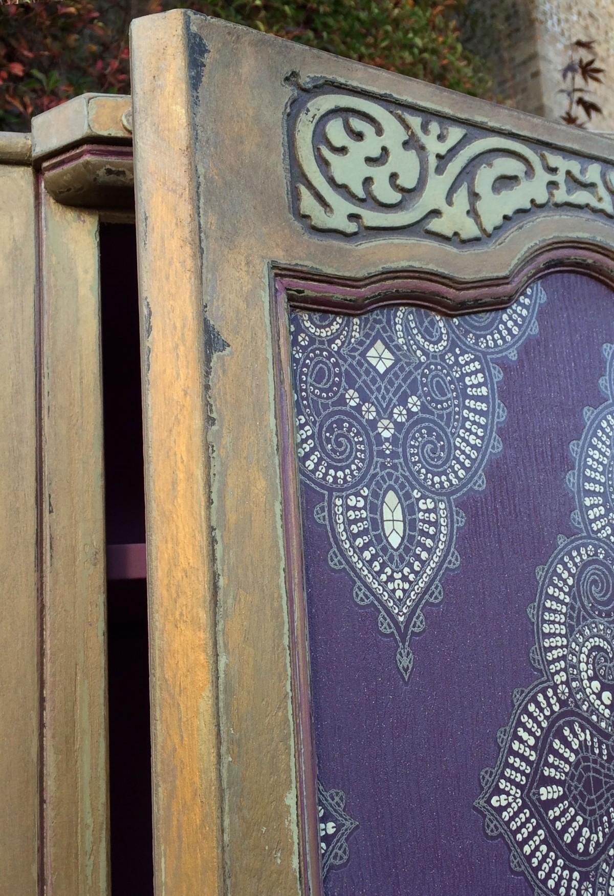 Декор шкафа в марокканском стиле