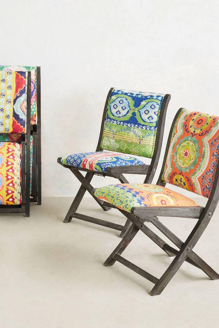 Мягкие складные стулья