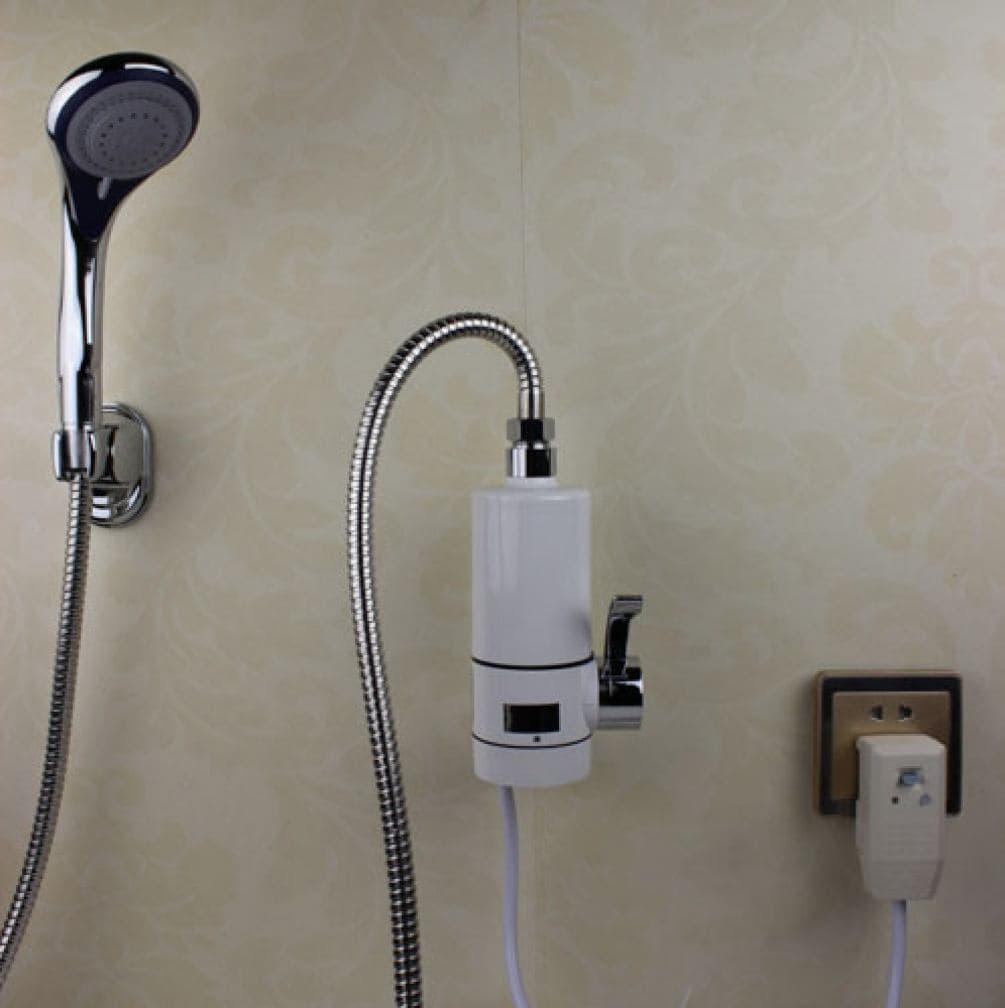Переносной душ с нагревателем воды