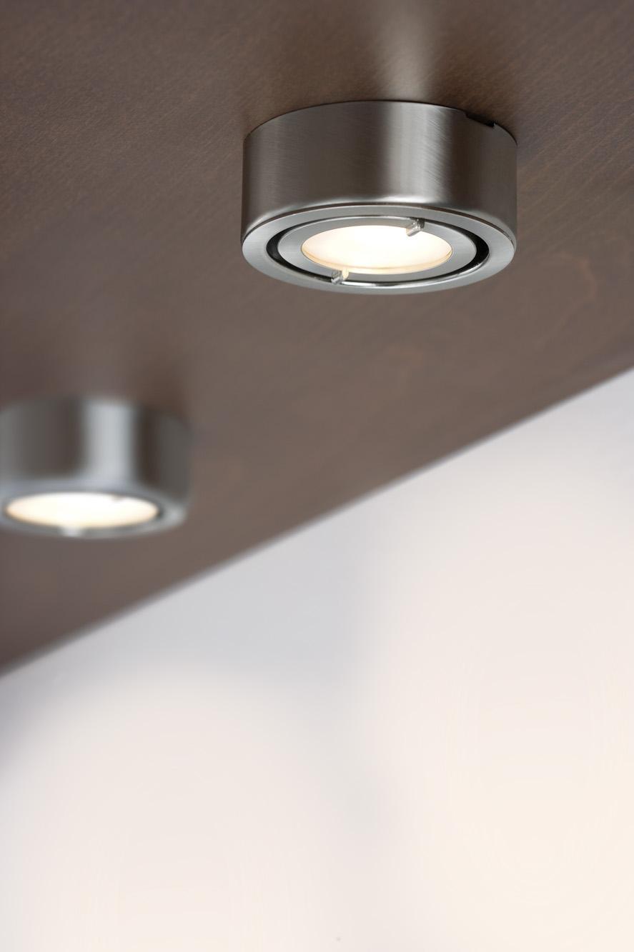 Мебельные светильники накладные