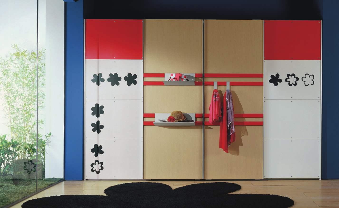Декоративные наклейки для шкафа