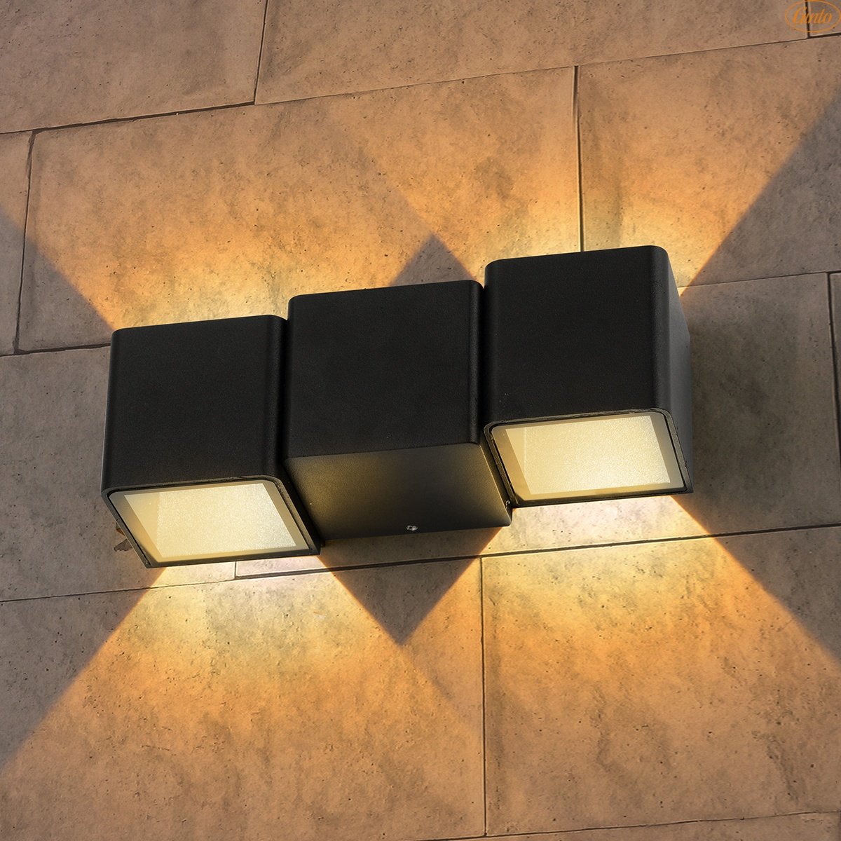 Настенные дачные фонари