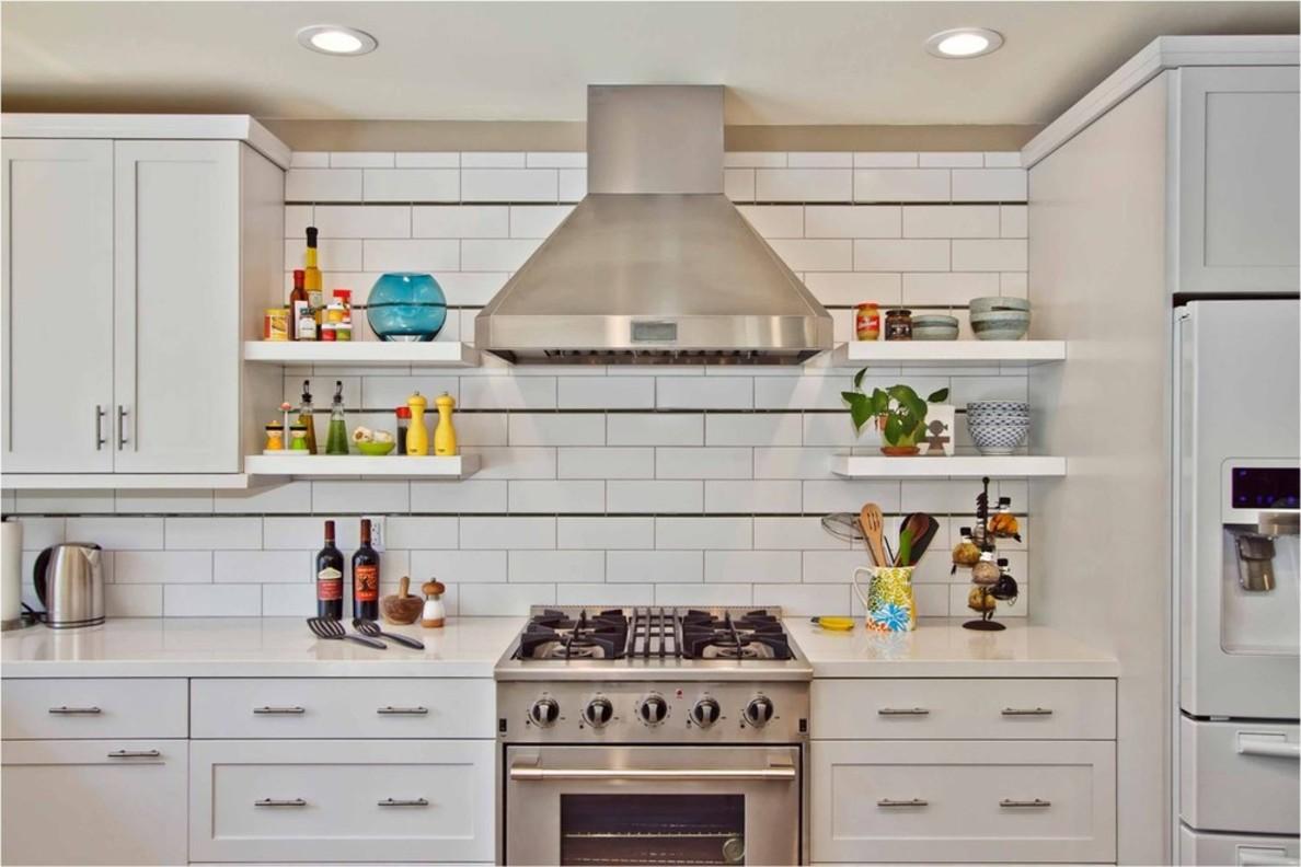 Навесные полки для посуды