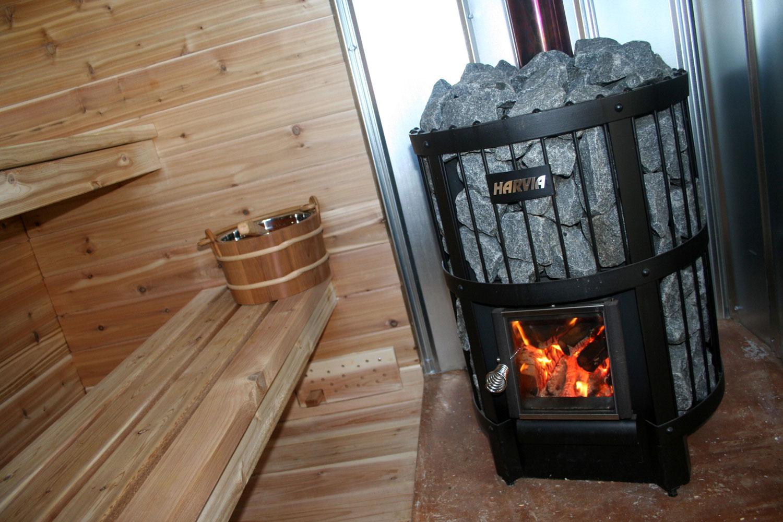 Печь для бани из нержавеющей стали