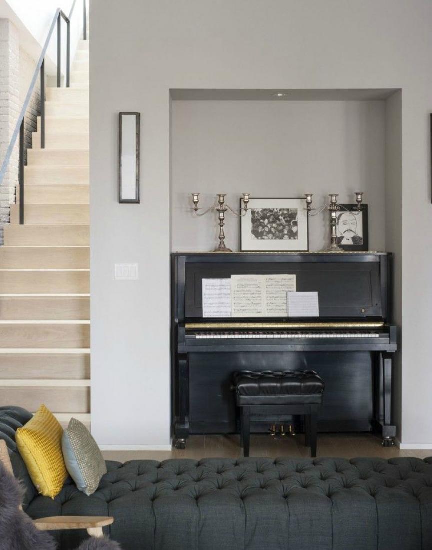 Пианино в нише