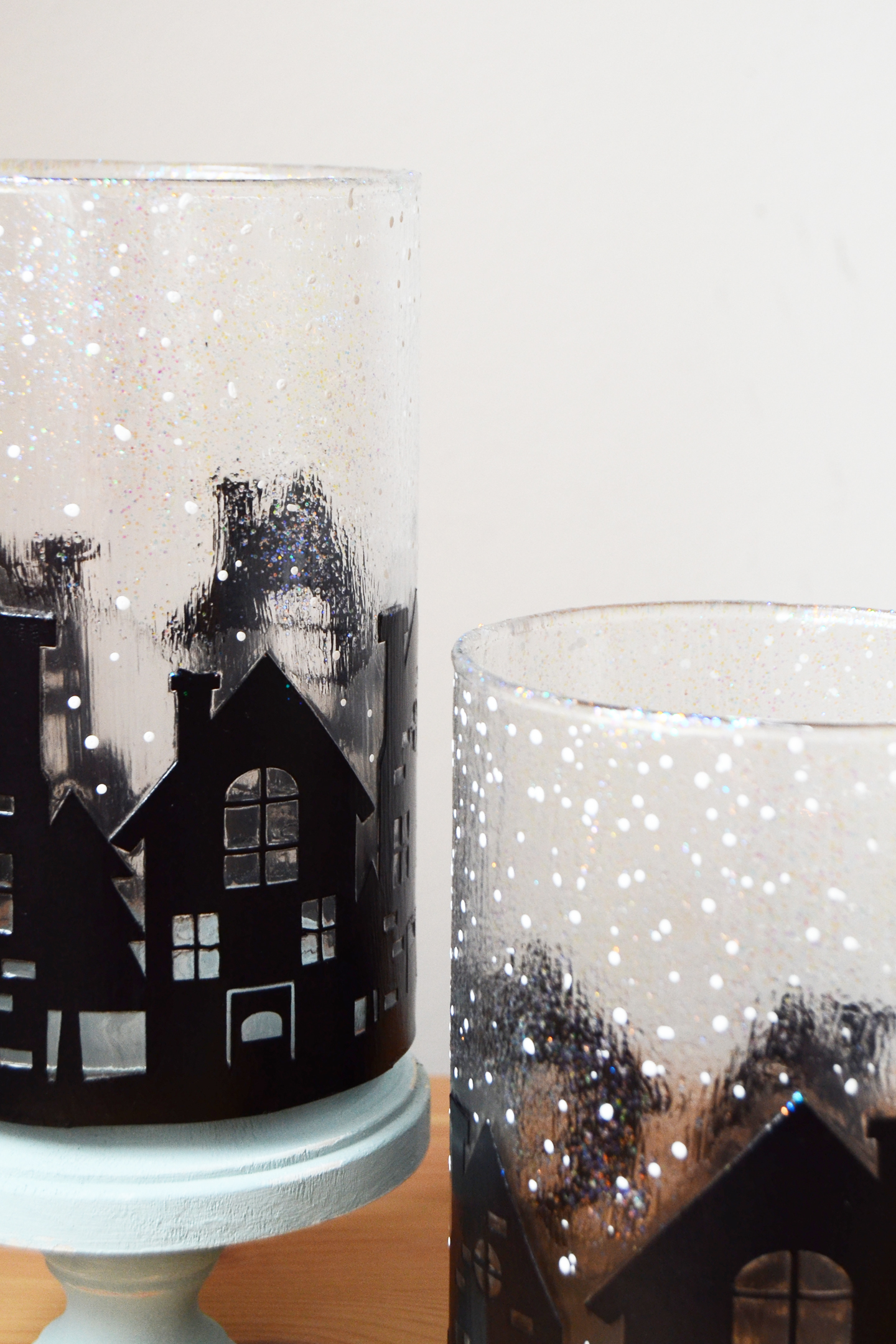 Новогодний декор вазы