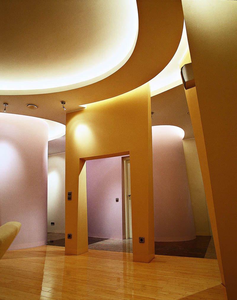 Светодиодная подсветка оригинального потолка