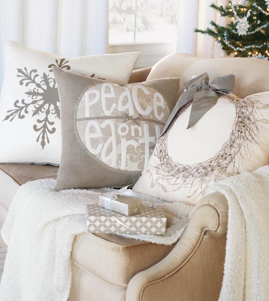 Подушки с декоративным орнаментом