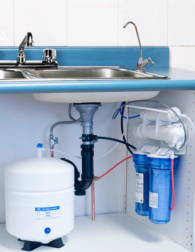 Система с обратным осмосом для воды