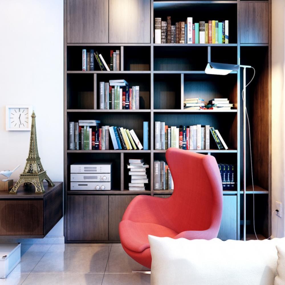 Место для чтения в интерьере особняка
