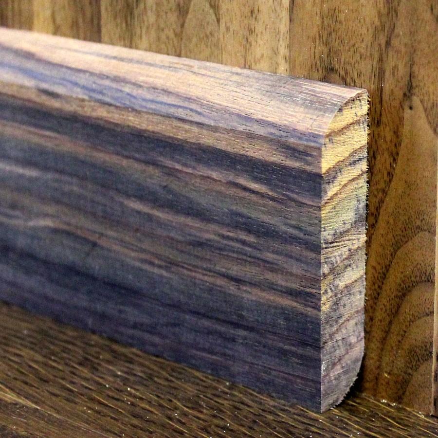 Деревянный плинтус из палисандра