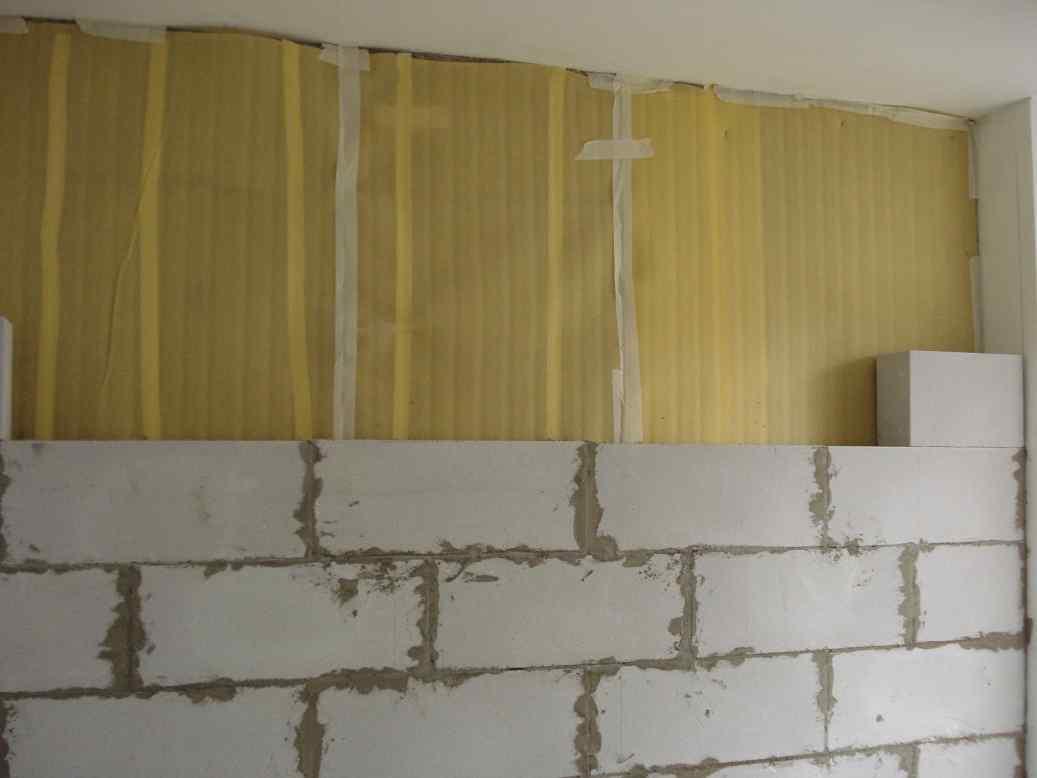 Звукоизоляция комнаты пеноблоками