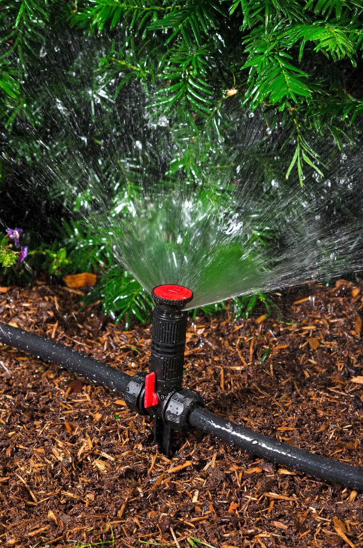 Переносной дождеватель для полива