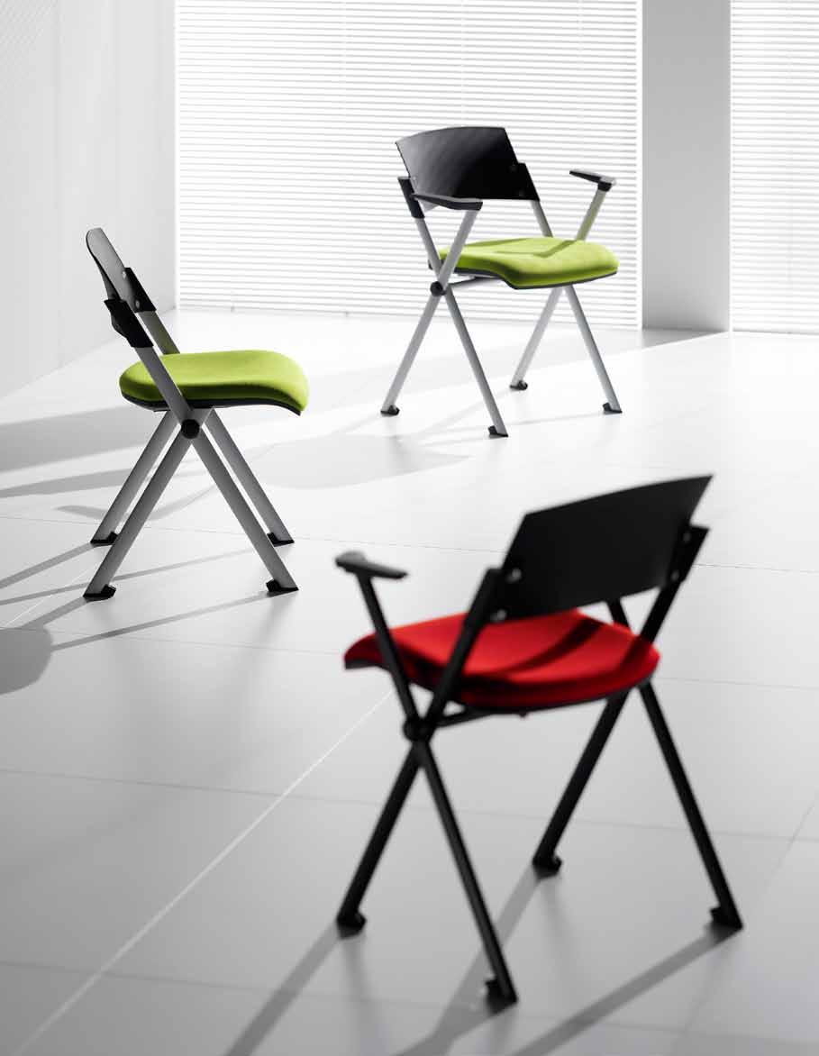 Складные стулья из пластика