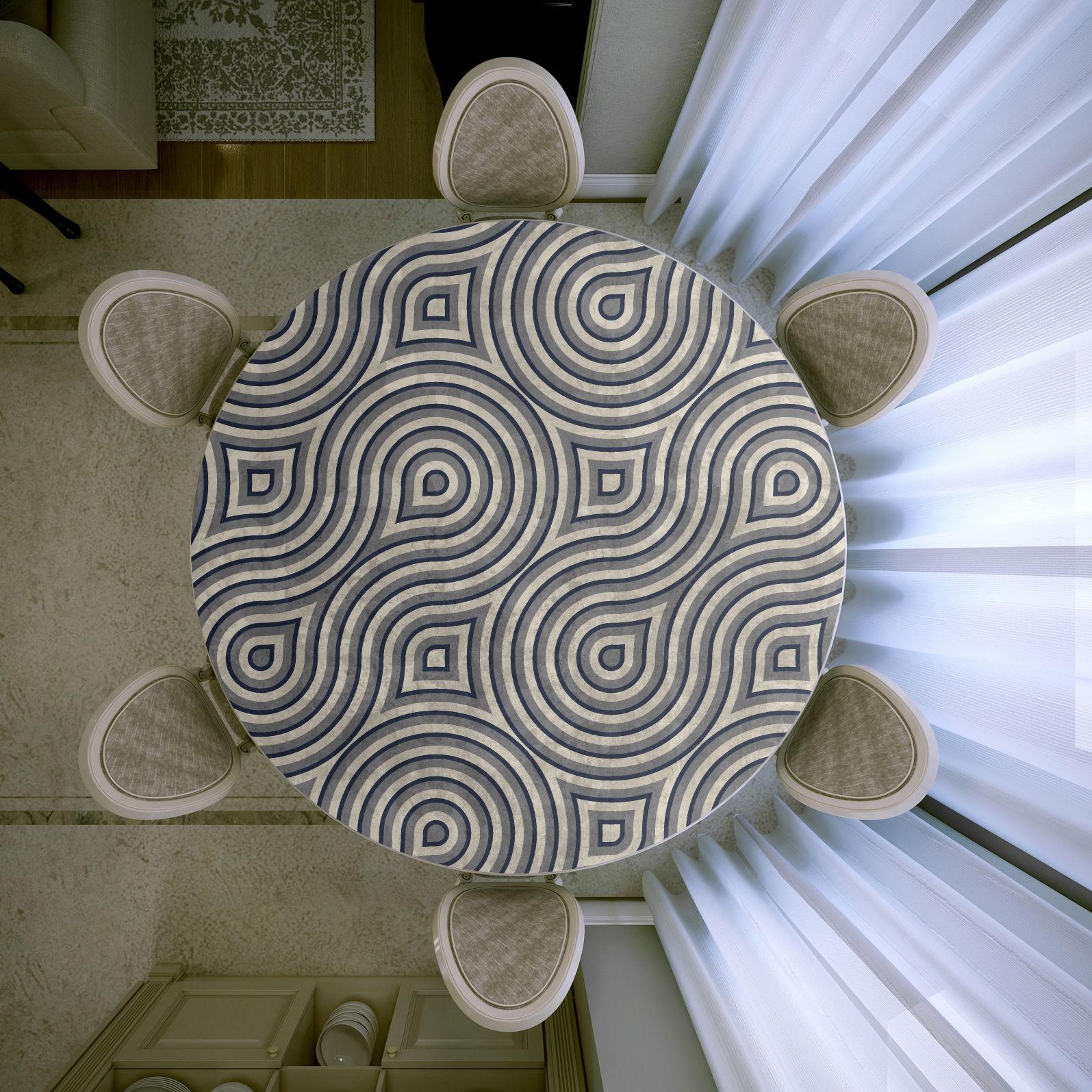 Декор Стола Рабочего Деревянного, Обеденного Или Журнального Своими Руками Цветами, Тканью и Стеклом