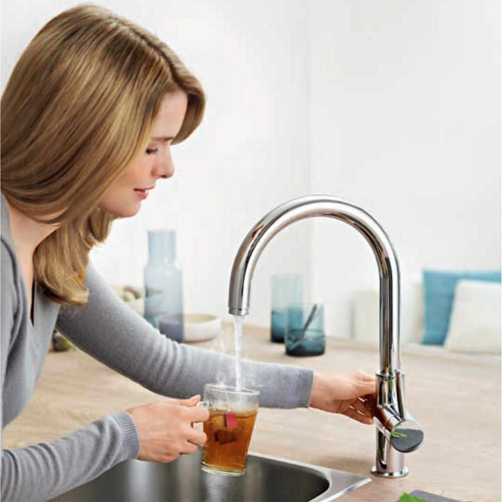 Смеситель для фильтра с подогревом воды