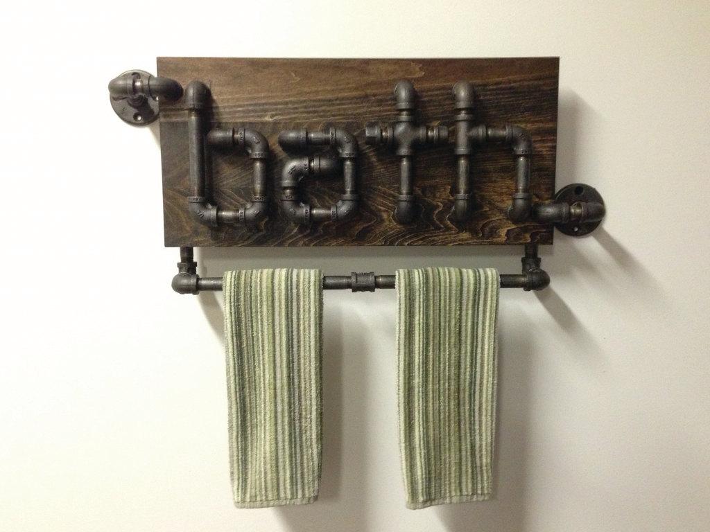 Декор держателя для полотенец
