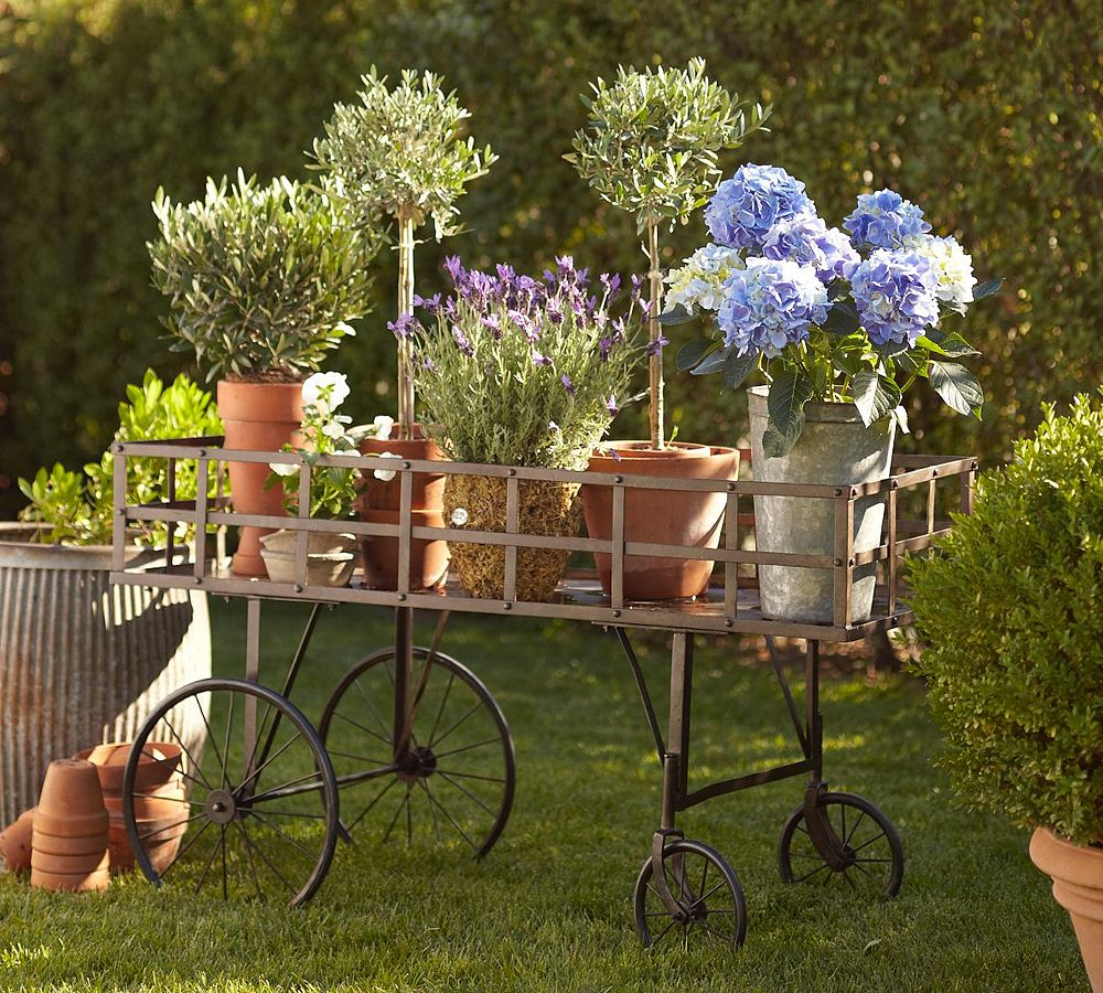 Декор для сада в стиле прованс
