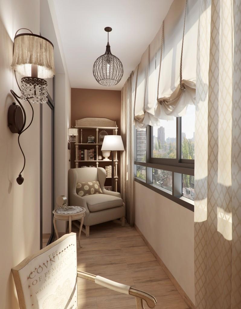 Мебель для балкона в стиле прованс