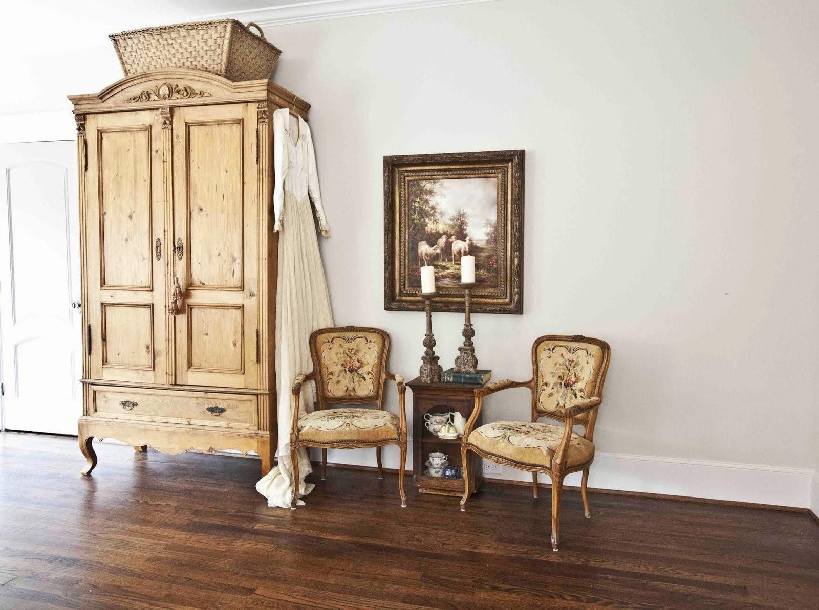Мебель, декорированная в стиле прованс