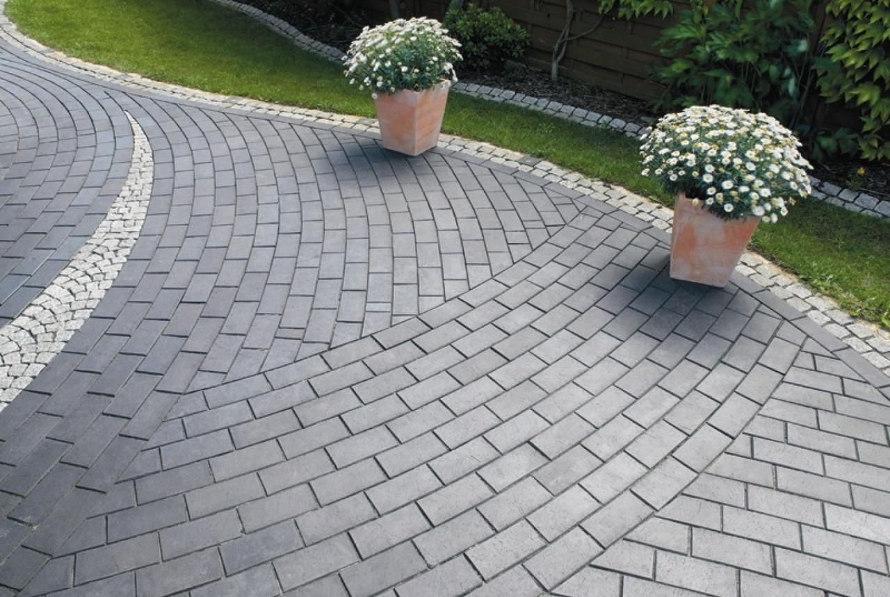 Прямоугольная тротуарная брусчатка