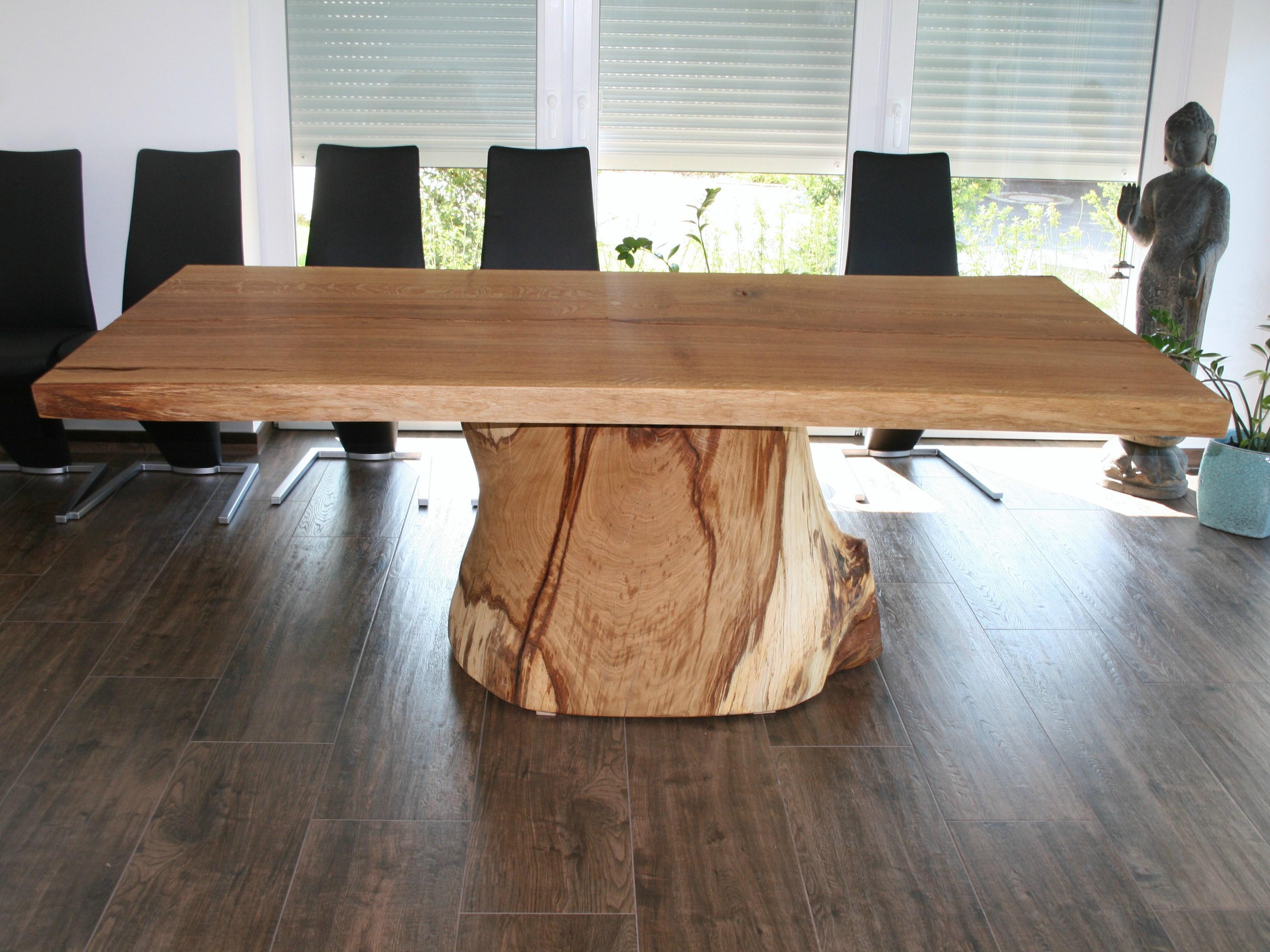 Стол из массива прямоугольный